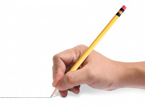 "A photo for our tip ""Use Your Pencil"""